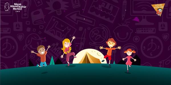 NÂZIM HİKMET KÜLTÜR MERKEZİ ÇOCUK ATÖLYELERİ Çocuk Sanat Kampı / 26 – 30 Temmuz